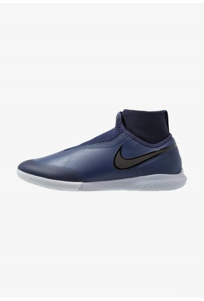 Nike PHANTOM REACT OBRA PRO IC - Chaussures de foot en salle midnight navy/black/wolf grey/dark obsidian liquidation