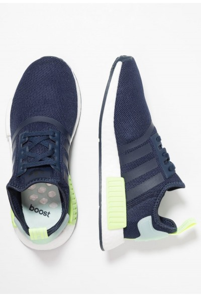 Adidas NMD_R1 - Baskets basses collegiate navy/ice mint pas cher