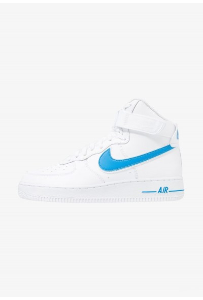 Nike AIR FORCE 1 '07 3 - Baskets montantes white/photo blue liquidation