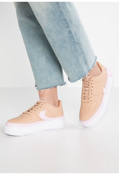 Nike AF1 JESTER XX - Baskets basses beige/pink force/white liquidation
