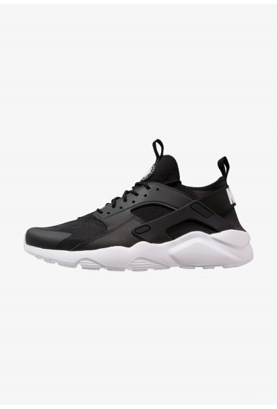 Nike AIR HUARACHE RUN ULTRA - Baskets basses black/white liquidation