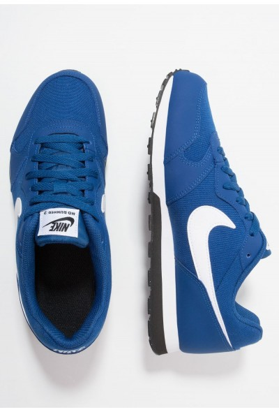 Nike MD RUNNER 2 - Baskets basses gym blue/white/black liquidation