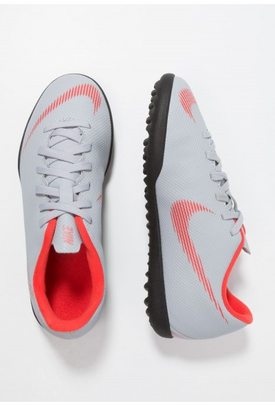Cadeaux De Noël 2019 Nike MERCURIAL VAPORX 12 CLUB TF - Chaussures de foot multicrampons wolf grey/light crimson/black liquidation