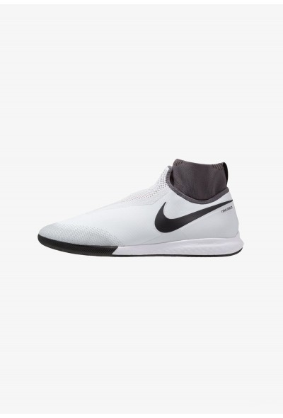 Black Friday 2020 | Nike PHANTOM REACT OBRA PRO IC - Chaussures de foot en salle pure platinum/black/light crimson/dark grey liquidation