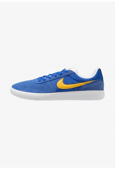 Nike TEAM CLASSIC - Baskets basses game royal/yellow ochre/white liquidation