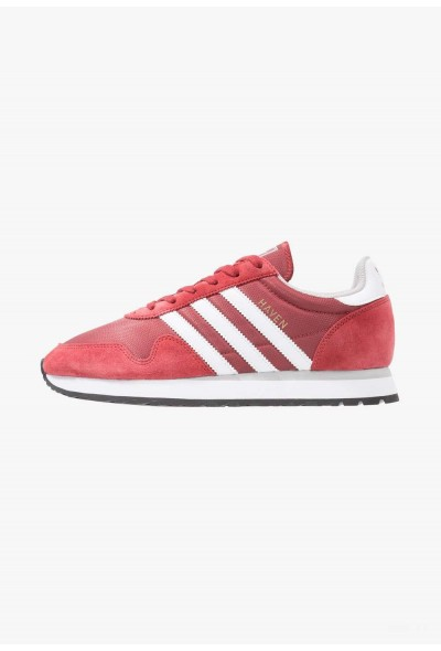 Adidas HAVEN - Baskets basses mystery red/white/clear granit pas cher