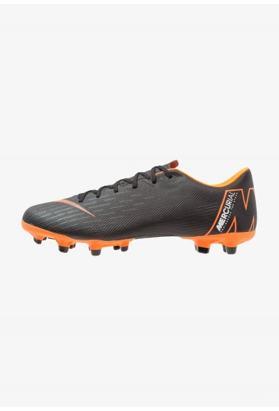 Nike MERCURIAL VAPOR 12 ACADEMY MG - Chaussures de foot à crampons black/total orange/white liquidation