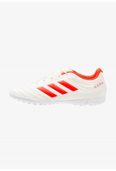 Adidas COPA 19.4 TF - Chaussures de foot multicrampons offwhite/solar red pas cher