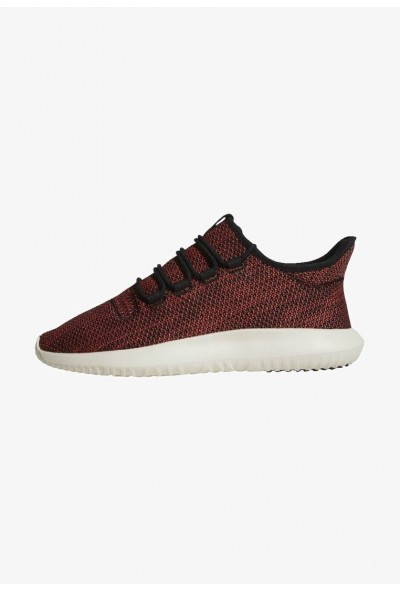 Adidas TUBULAR SHADOW - Baskets basses core black/trace scarlet/chalk white pas cher