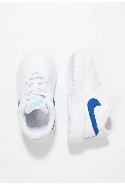 Black Friday 2020 | Nike FORCE 1 18 - Chaussures premiers pas white/indigo force/blue gaze liquidation