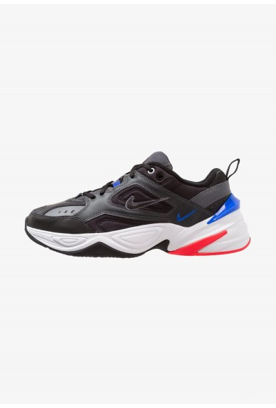 Nike M2K TEKNO - Baskets basses dark grey/black/baroque brown/racer blue/solar red/white liquidation
