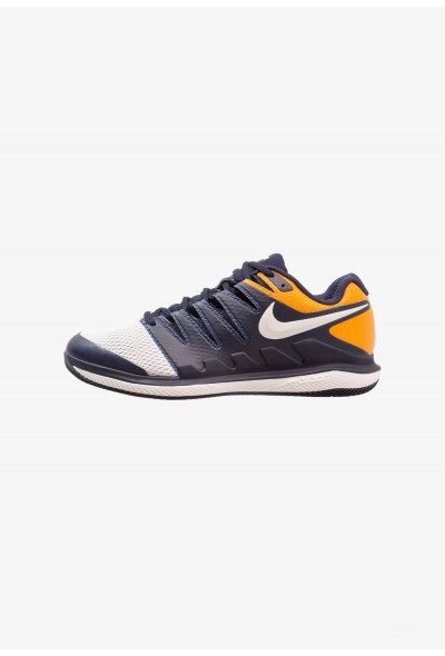 Nike AIR ZOOM VAPOR X HC - Baskets tout terrain blackened blue/phantom/orange peel liquidation