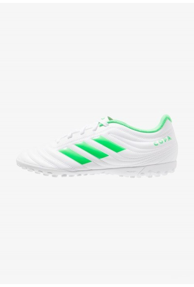 Black Friday 2020 | Adidas COPA 19.4 TF - Chaussures de foot multicrampons footwear white/solar lime pas cher