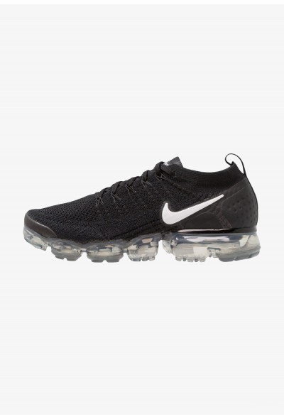 Black Friday 2020 | Nike AIR VAPORMAX FLYKNIT - Chaussures de running neutres black/white/dark grey/metallic liquidation