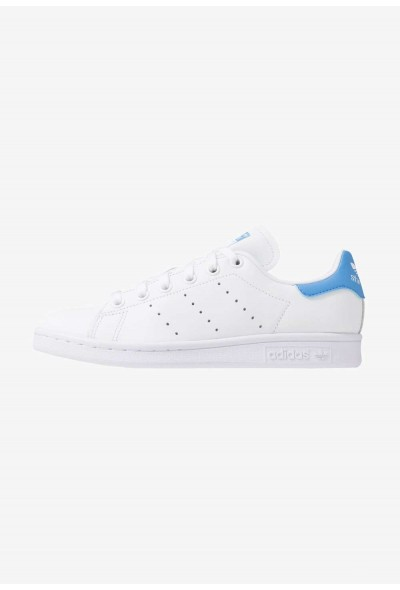 Adidas STAN SMITH - Baskets basses footwear white/real blue pas cher
