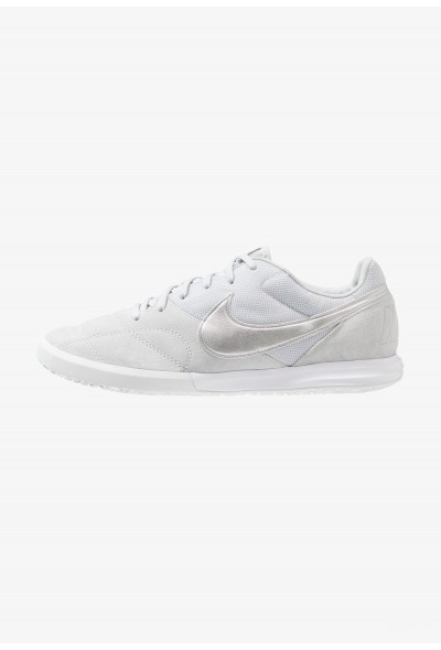 Nike THE PREMIER II SALA - Chaussures de foot en salle pure platinum/metallic silver/white liquidation
