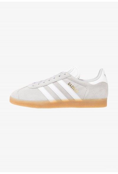 Adidas GAZELLE - Baskets basses grey two/footwear white pas cher