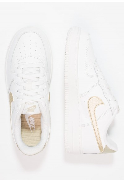 Nike FORCE 1 (PS) - Baskets basses summit white/metallic gold star liquidation