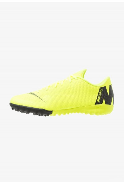 Black Friday 2020 | Nike MERCURIAL VAPORX 12 ACADEMY TF - Chaussures de foot multicrampons volt/black liquidation