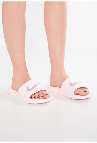 Nike KAWA SHOWER - Sandales de bain arctic pink/atmosphere grey liquidation