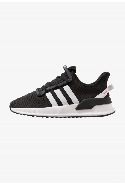 Adidas U_PATH RUN - Baskets basses core black/ash grey pas cher