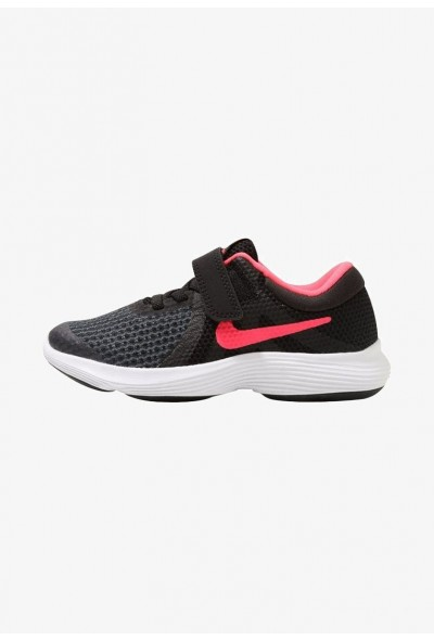 Black Friday 2019 | Nike REVOLUTION 4 - Chaussures de running neutres black/white/racer pink liquidation