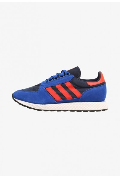 Adidas FOREST GROVE - Baskets basses blue/hirere/conavy pas cher