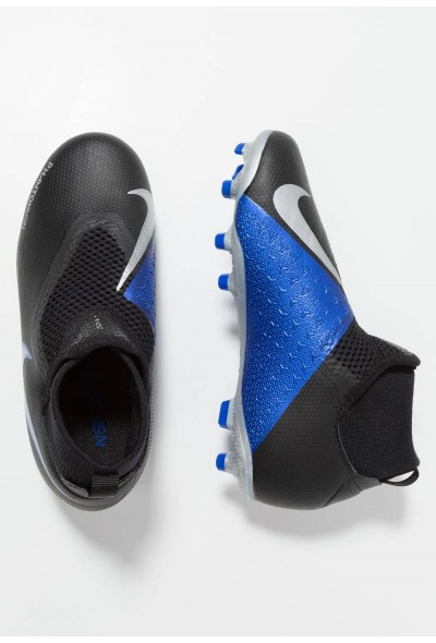 Black Friday 2020 | Nike Chaussures de foot à crampons black/metallic silver/racer blue liquidation