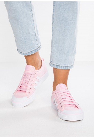 Adidas NIZZA - Baskets basses  pink/footwear white pas cher