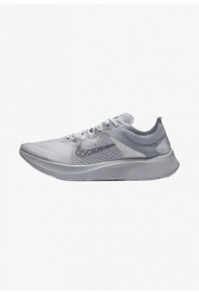 Nike ZOOM FLY SP - Chaussures de running compétition grey/black liquidation