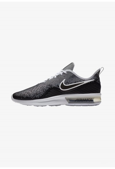 Cadeaux De Noël 2019 Nike AIR MAX SEQUENT 4 - Chaussures de running neutres black/white liquidation