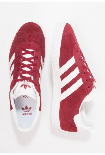 Black Friday 2020 | Adidas GAZELLE - Baskets basses collegiate burgundy/footwear white pas cher
