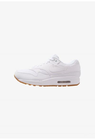 Nike AIR MAX 1 - Baskets basses white/medium brown liquidation