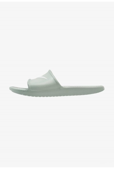 Nike KAWA SHOWER - Sandales de bain clay green/base grey liquidation