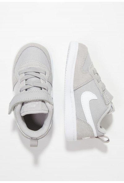 Nike COURT BOROUGH LOW - Chaussures premiers pas atmosphere grey/white liquidation