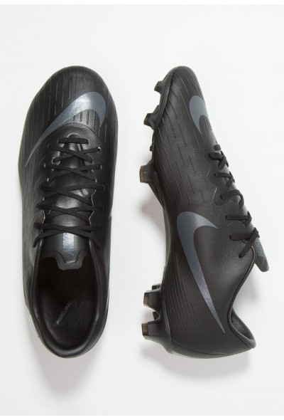 Nike MERCURIAL VAPOR 12 PRO FG - Chaussures de foot à crampons black/anthracite/light crimson liquidation