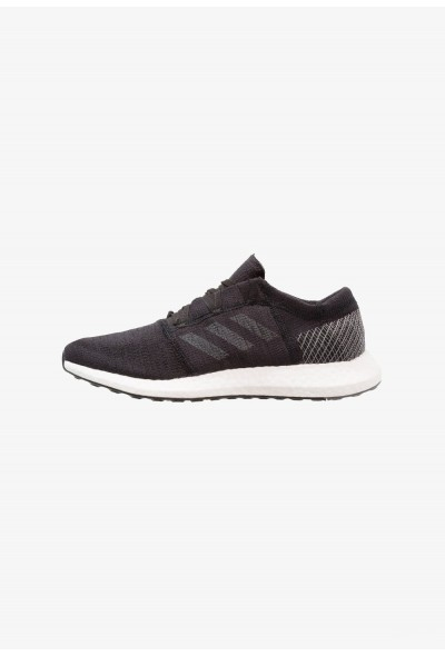 Adidas PUREBOOST GO - Chaussures de running neutres core black/grey five/grey four pas cher