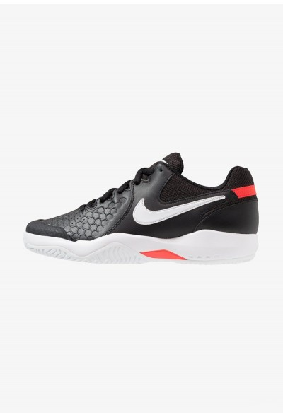 Black Friday 2020 | Nike AIR ZOOM RESISTANCE - Chaussures de tennis sur terre battue black/white/bright crimson liquidation