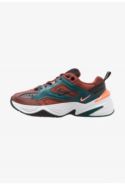 Black Friday 2020 | Nike M2K TEKNO - Baskets basses pueblo brown/black/rainforest/bright mango/white liquidation