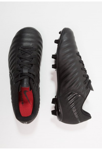 Nike TIEMPO LEGEND 7 ACADEMY MG - Chaussures de foot à crampons black/light crimson liquidation
