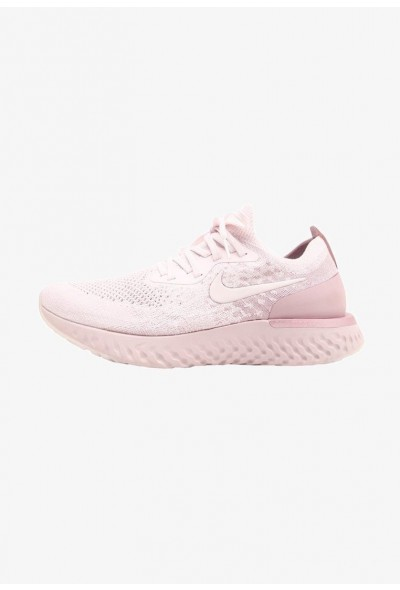 Nike EPIC REACT FLYKNIT - Chaussures de running neutres pearl pink/barely rose/arctic pink liquidation