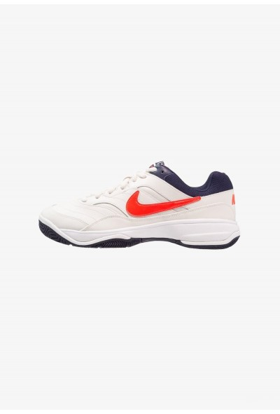 Black Friday 2019 | Nike COURT LITE - Baskets tout terrain phantom/bright crimson/white/blackened blue liquidation