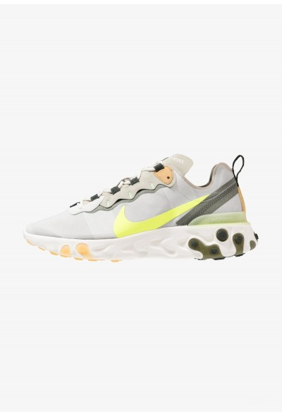 Nike REACT 55 - Baskets basses spruce aura/volt/spruce fog/barely volt/club gold/sequoia liquidation