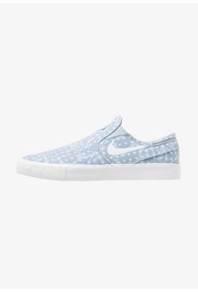 Nike ZOOM JANOSKI - Mocassins light armory blue/white/obsidian mist/light brown liquidation