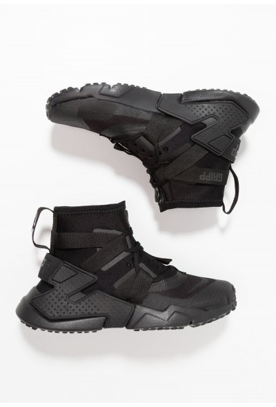 Black Friday 2020 | Nike HUARACHE GRIPP - Baskets montantes black liquidation