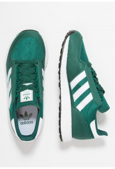 Adidas FOREST GROVE - Baskets basses collegiate green/footwear white pas cher