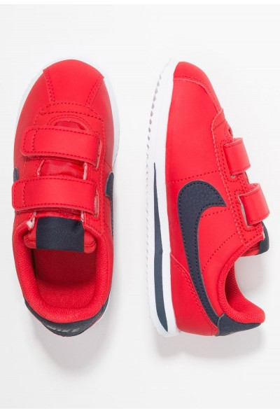 Nike CORTEZ BASIC - Baskets basses university red/obsidian/white liquidation