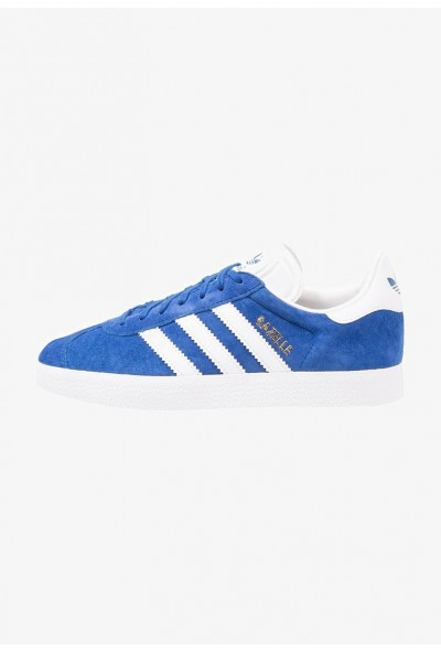 Cadeaux De Noël 2019 Adidas GAZELLE - Baskets basses collegiate royal/white/gold metallic pas cher
