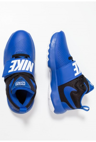 Nike TEAM HUSTLE D 8 - Chaussures de basket game royal/black/white liquidation