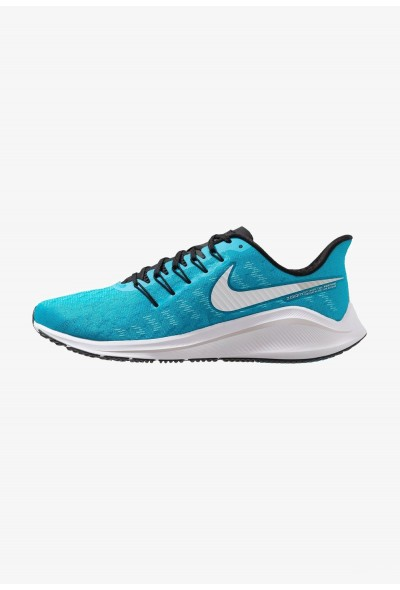 Nike AIR ZOOM VOMERO  - Chaussures de running neutres blue lagoon/white/black/vast grey liquidation